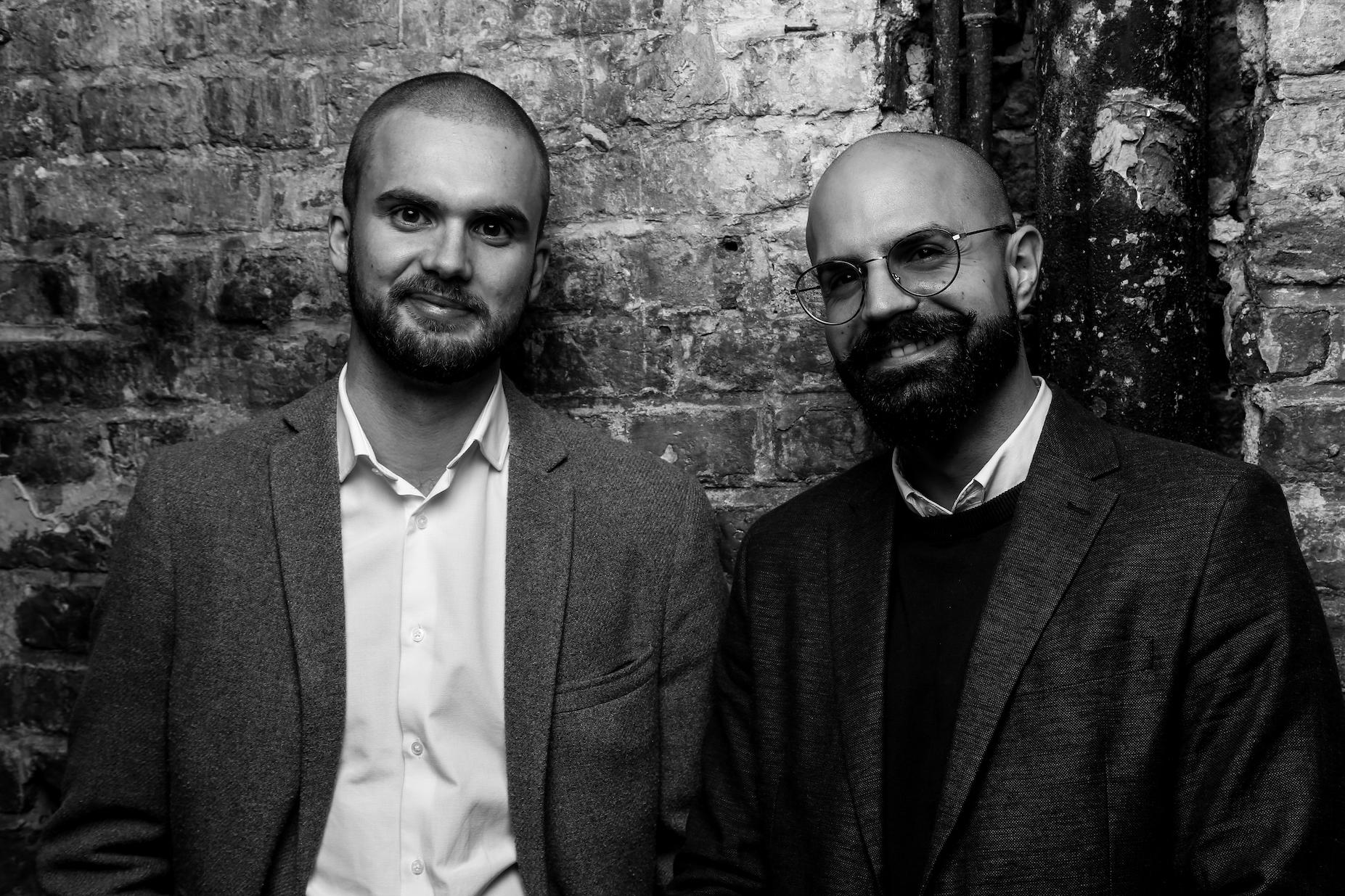 Die Gründer von QuantumLight Christian Wilhelm Roth und Moussa Bdeir
