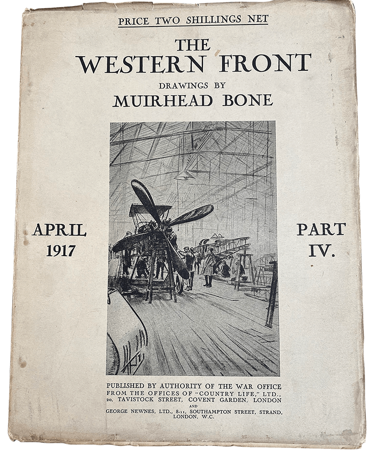 A leaflet about The Western Front.