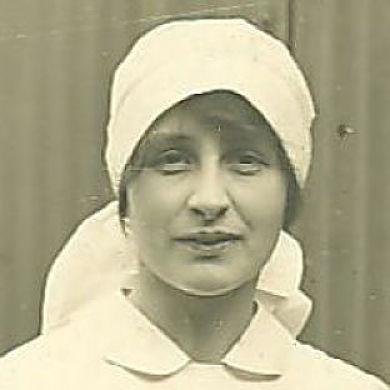 A photograph of Vera Brittain.