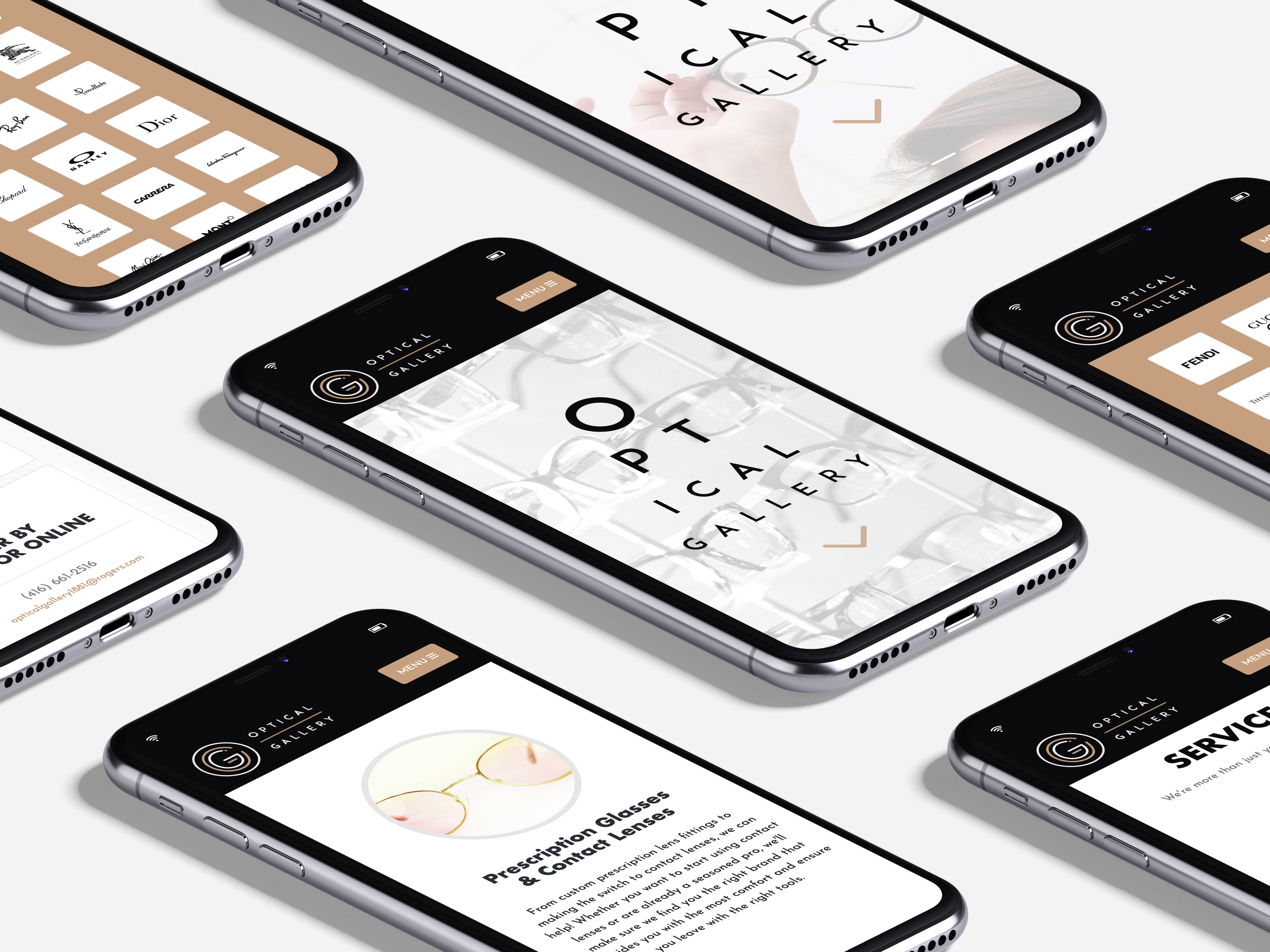 Brand Identity, Web Design & Development