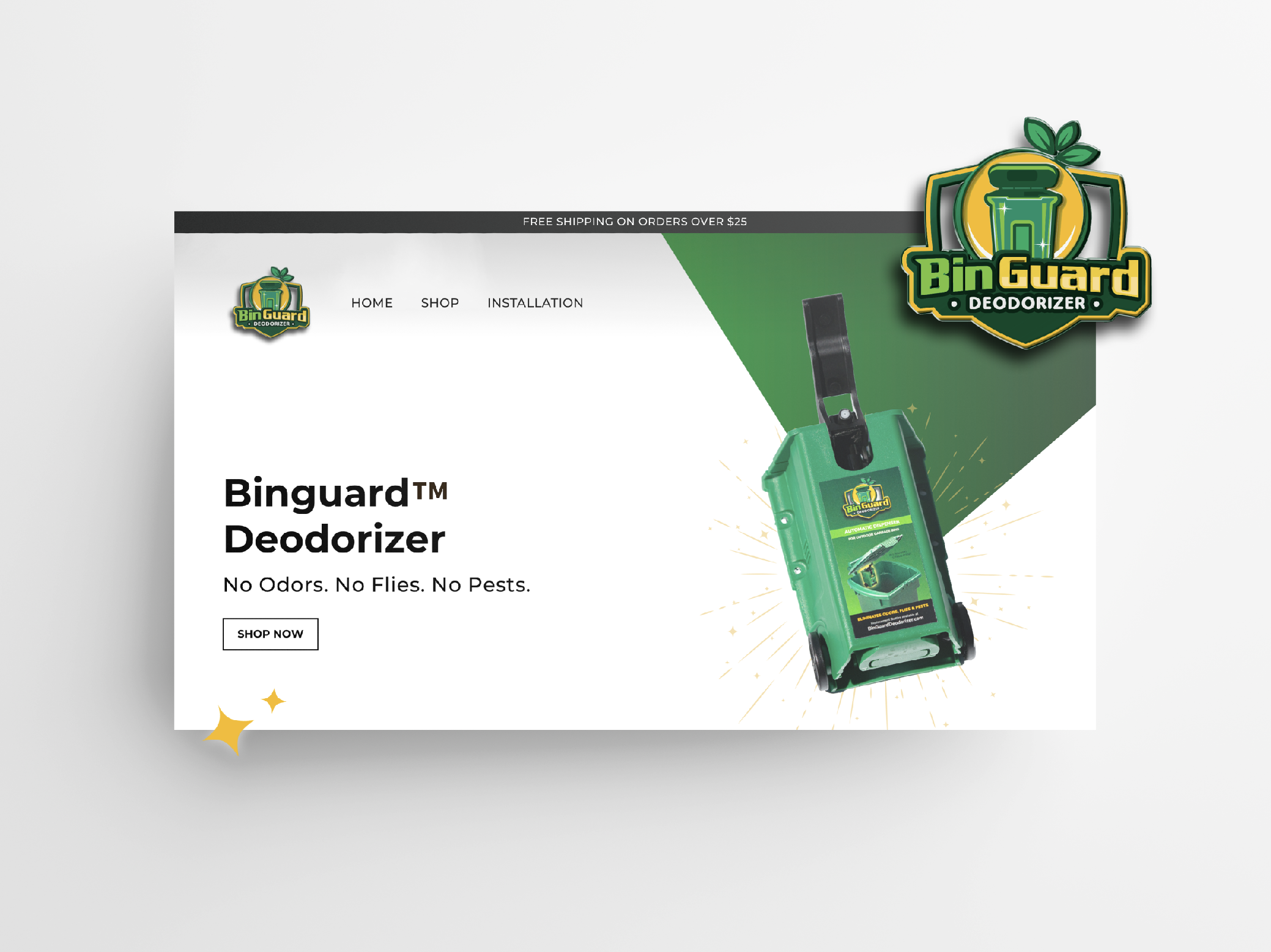 Website Design & Development, Digital Marketing, Packaging