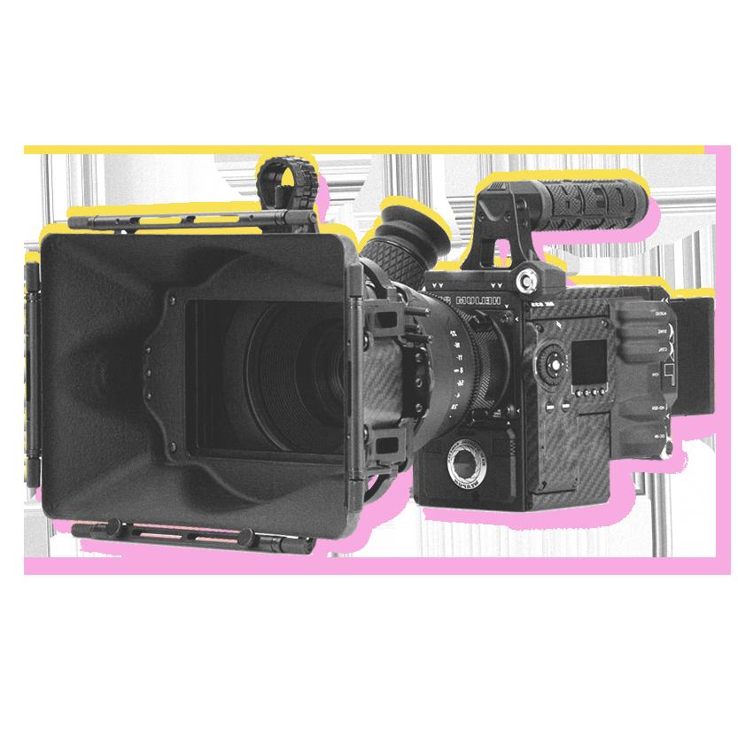 red camera