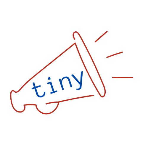 Tiny Megaphone logo