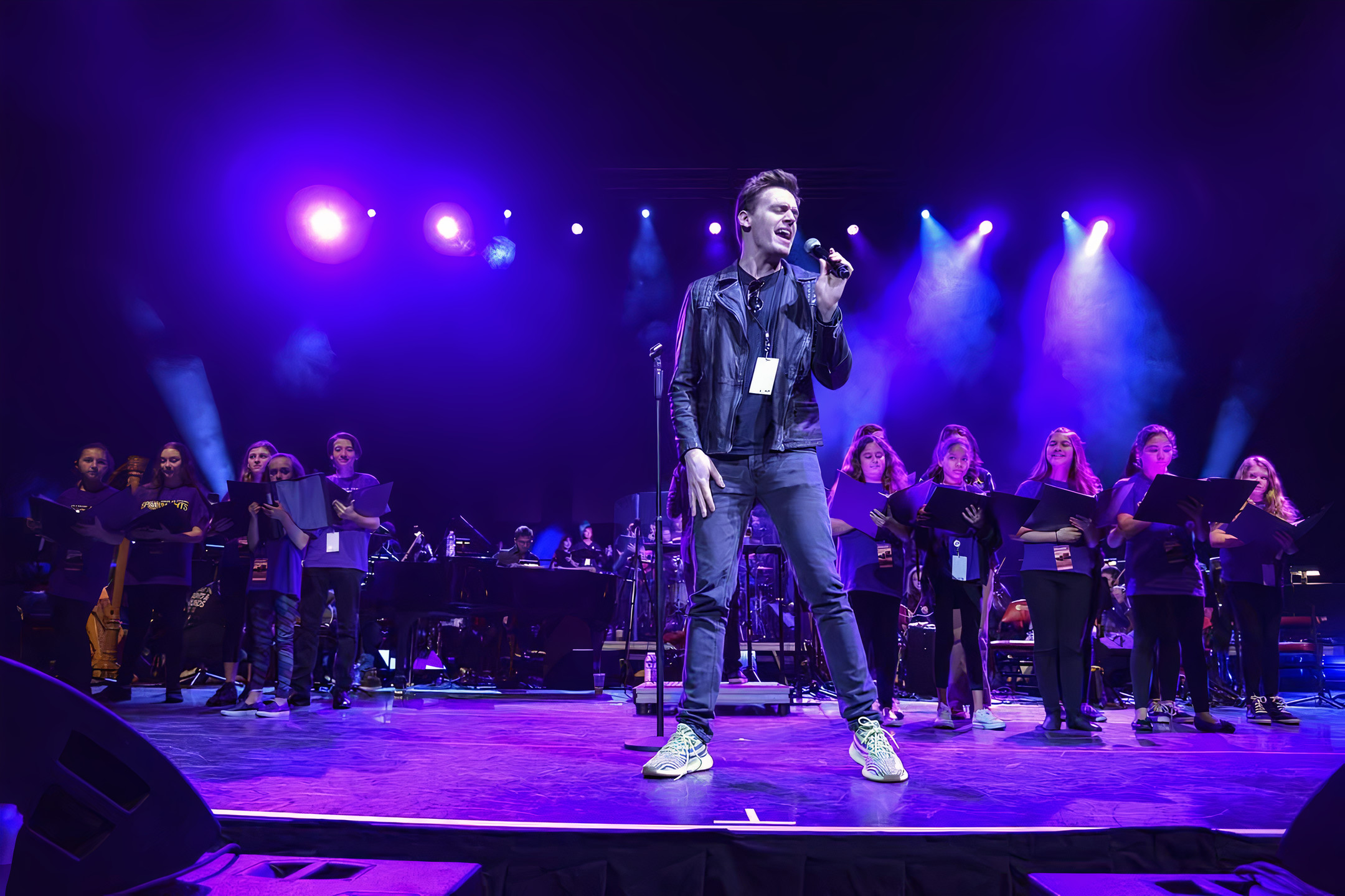 From Broadway with Love: Parkland. Erich Bergen singing.