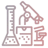 Microscope and lab equipment