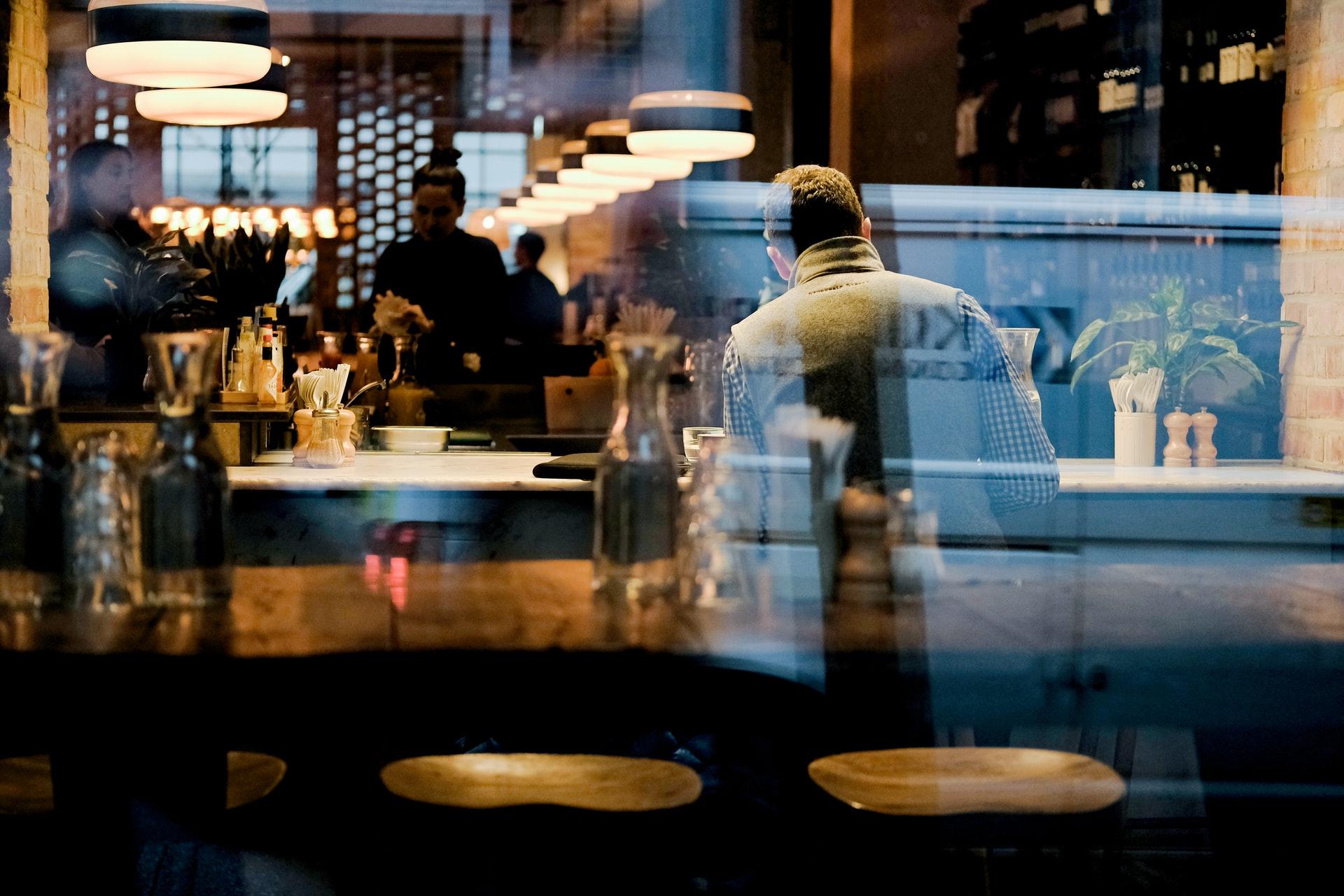 restaurant and bar interior