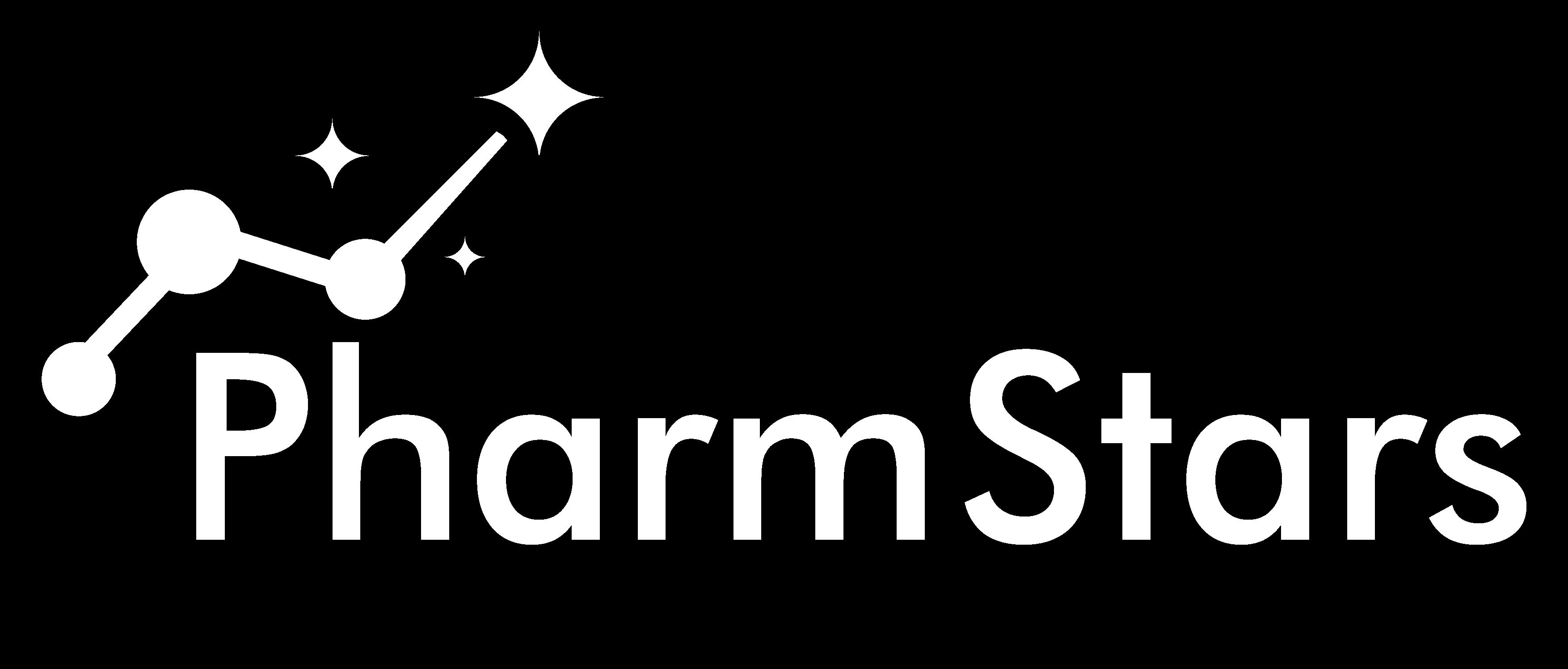 PharmStars Digital Health Accelerator White Logo