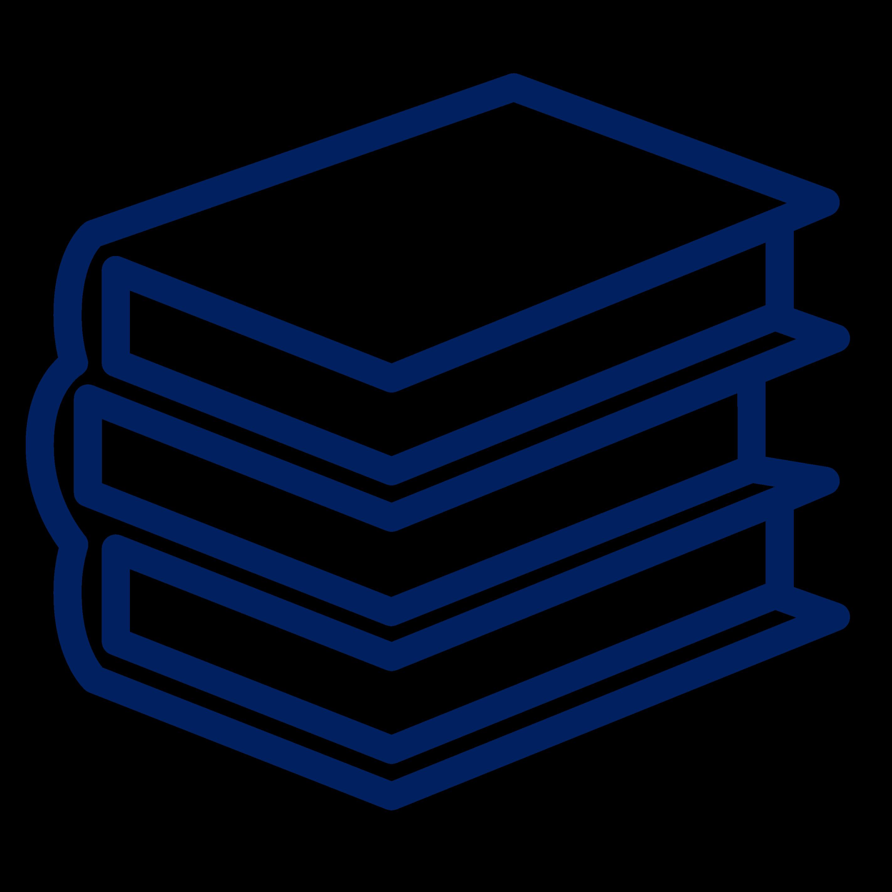 Icon - pile of books