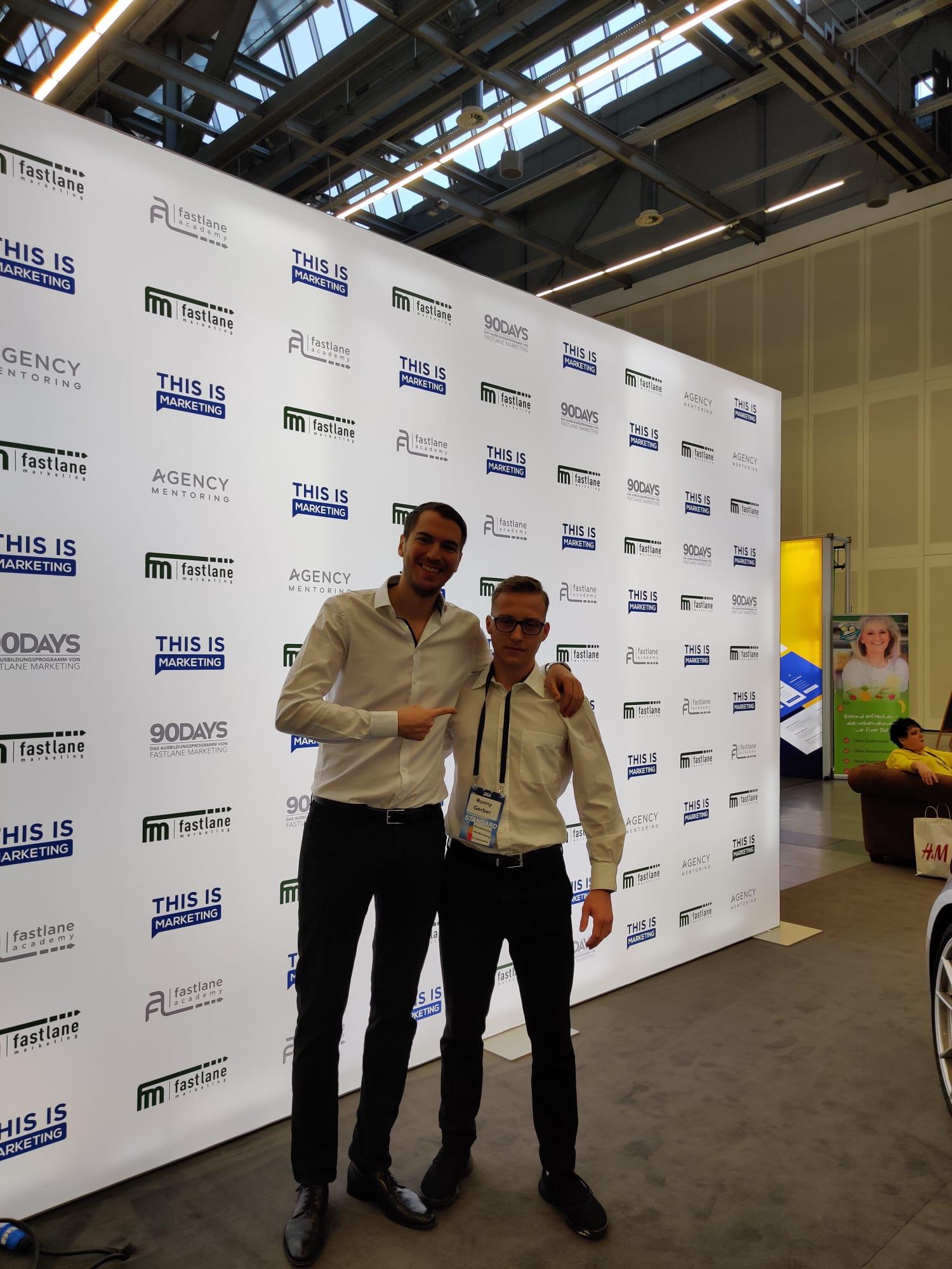 Ronny Gerber und Marcel Knopf