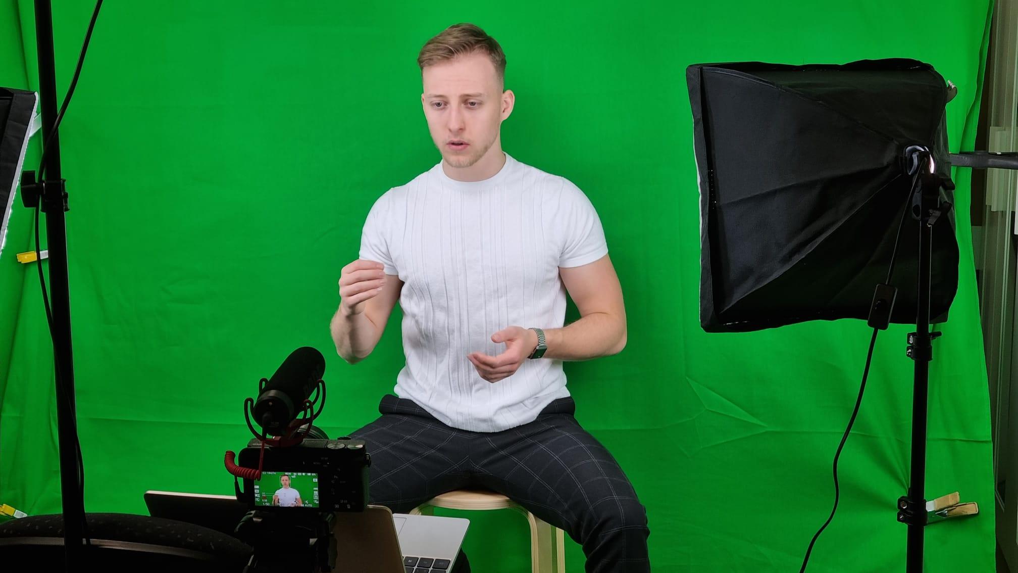 Ronny Gerber - Videodreh