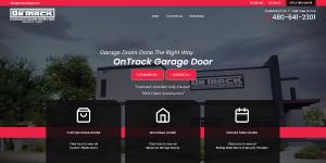 on track garage door repair