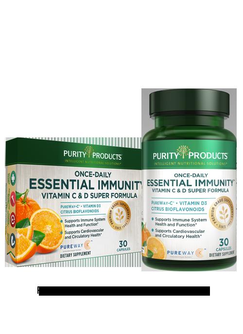 Once-daily Essential Immunity - Vitamin C & D Super Formula