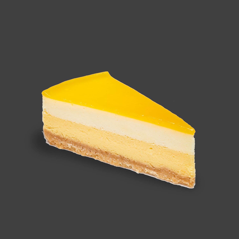 Mango and Passion Fruit Cheesecake