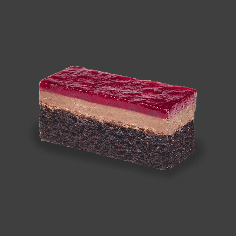 Vegan Chocolate Berry Cheesecake