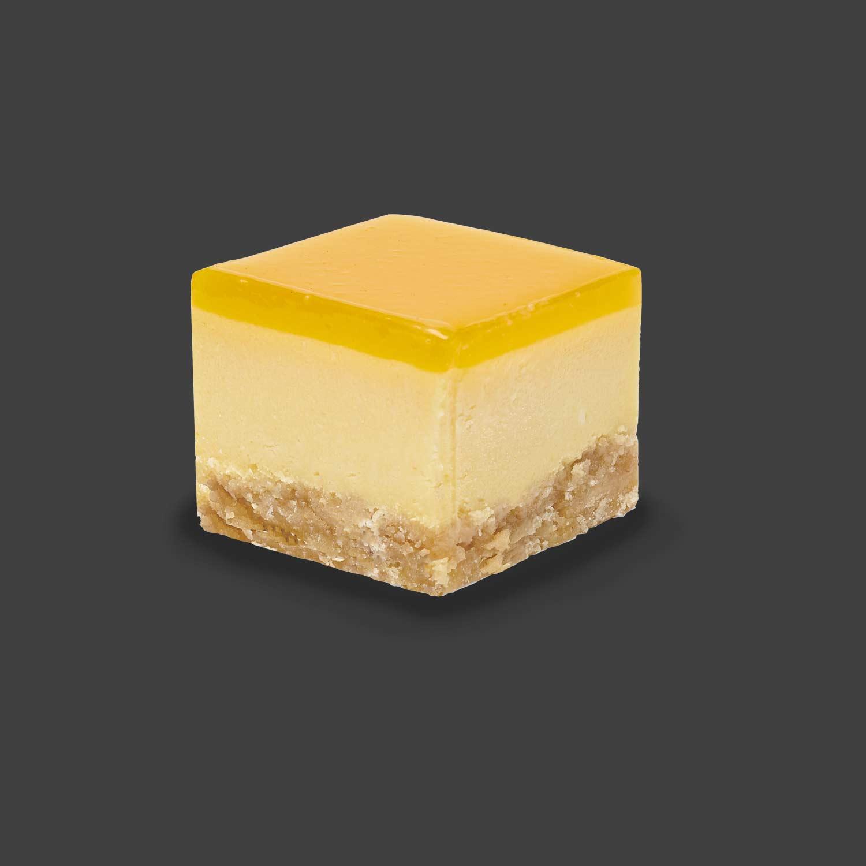 Passionfruit & Mango Baked Cheesecake Tray