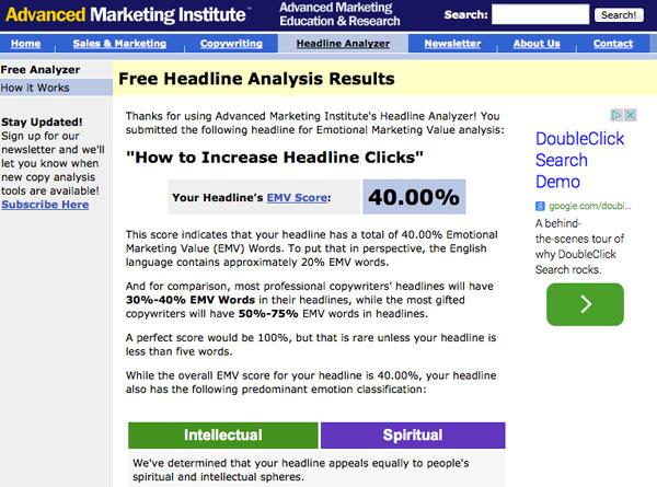 Free Headline Analyzer Tool