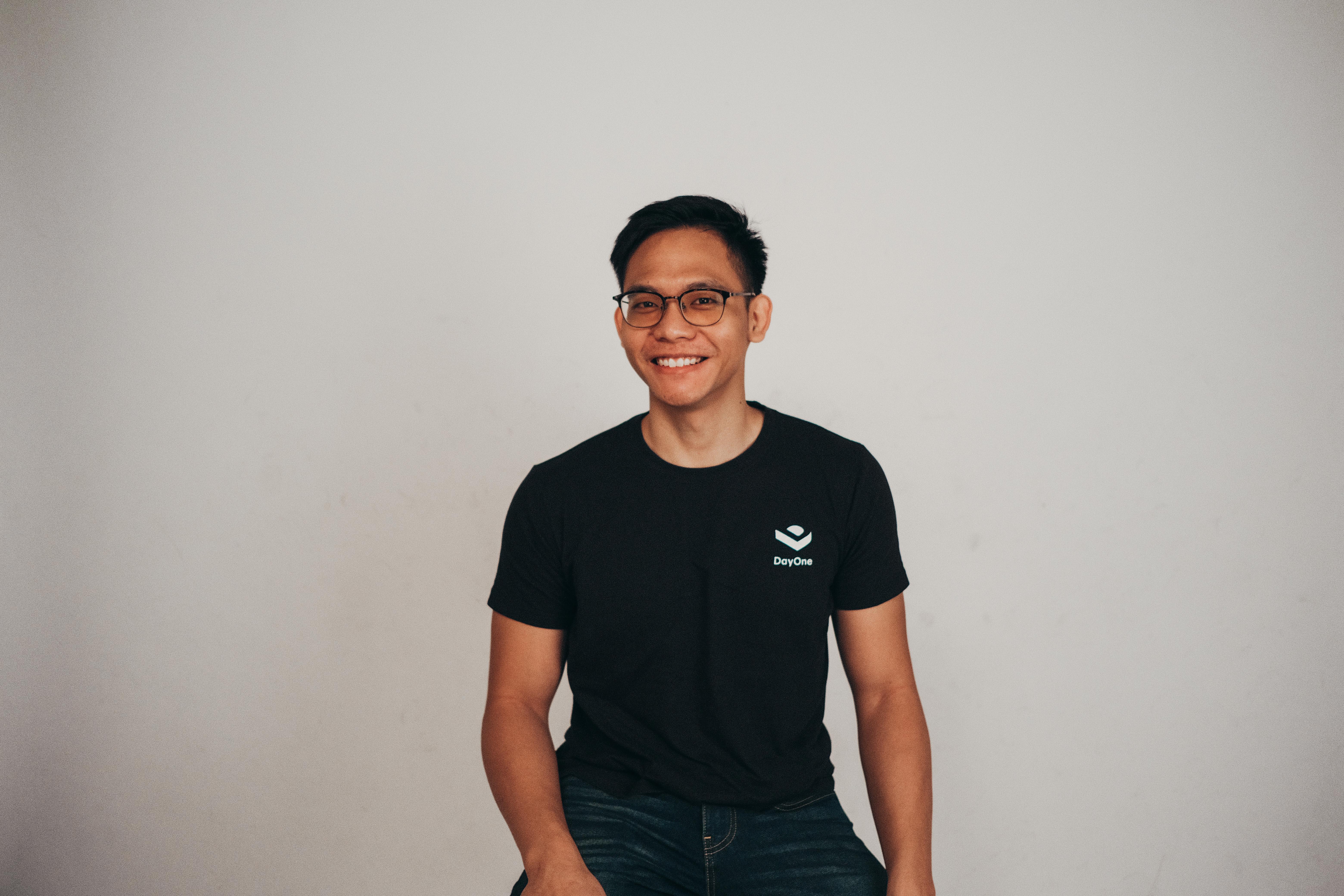Portrait photo of Marketing head, Johan