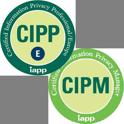 Combined CIPP/E & CIPM (GDPR ready)
