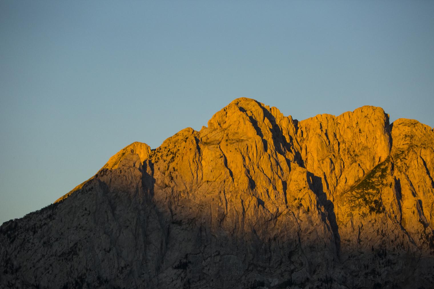 Montaña en el Cadí