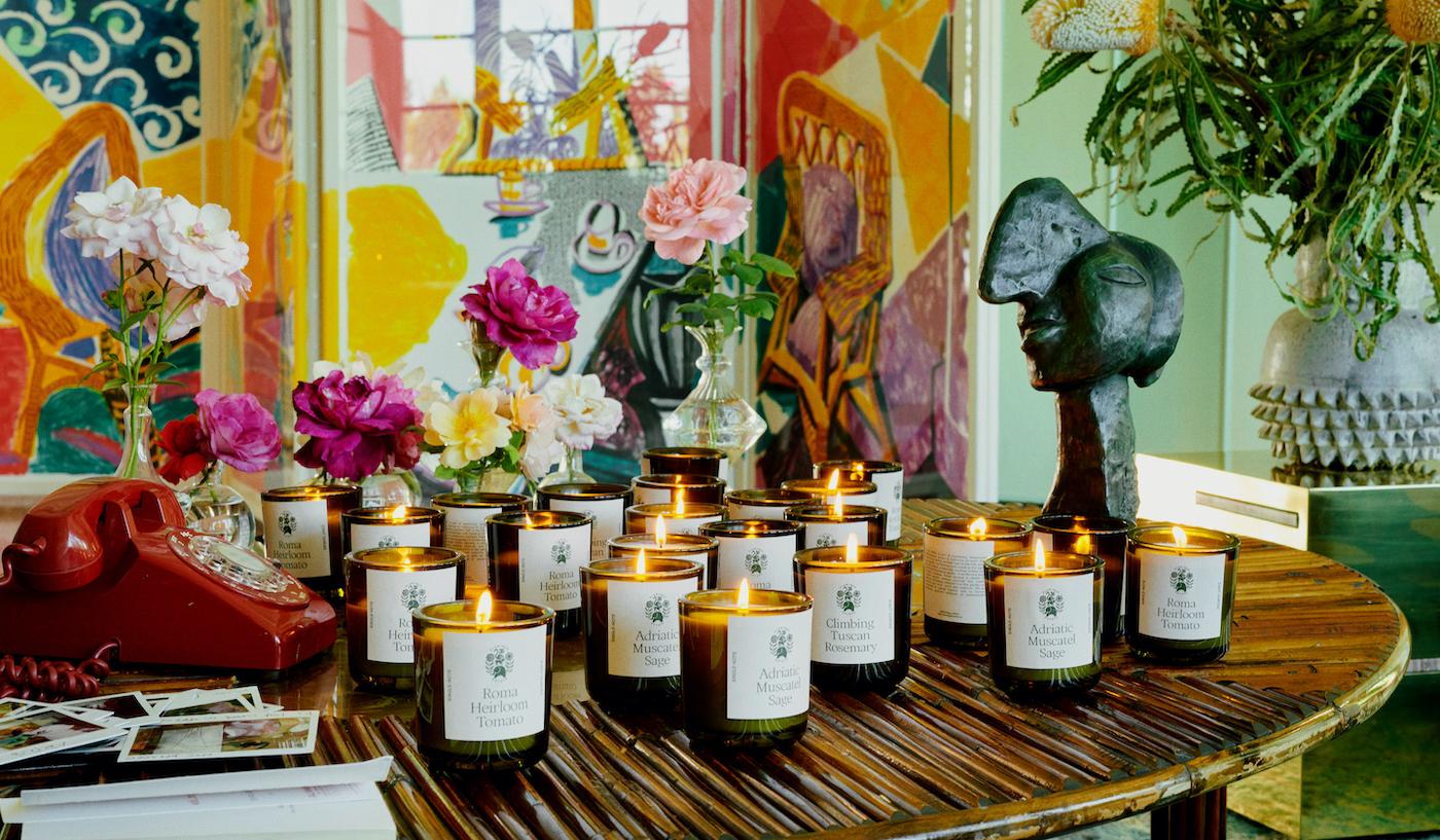 flamingo estate candles