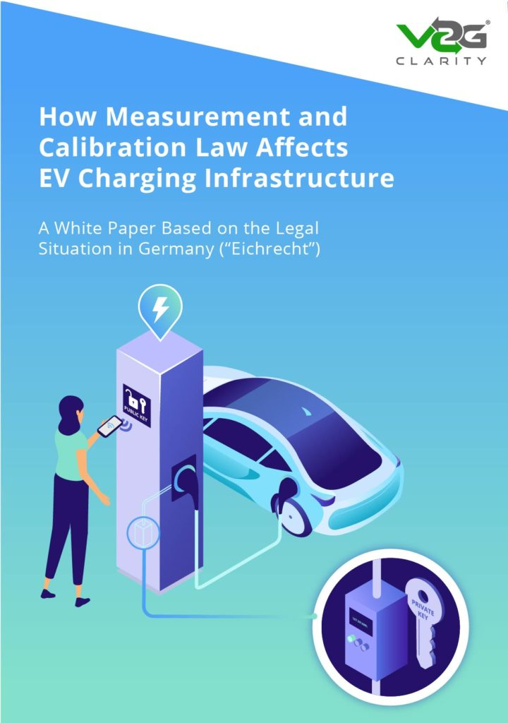 White paper on how measurement and calibration law affects EV charging infrastructure