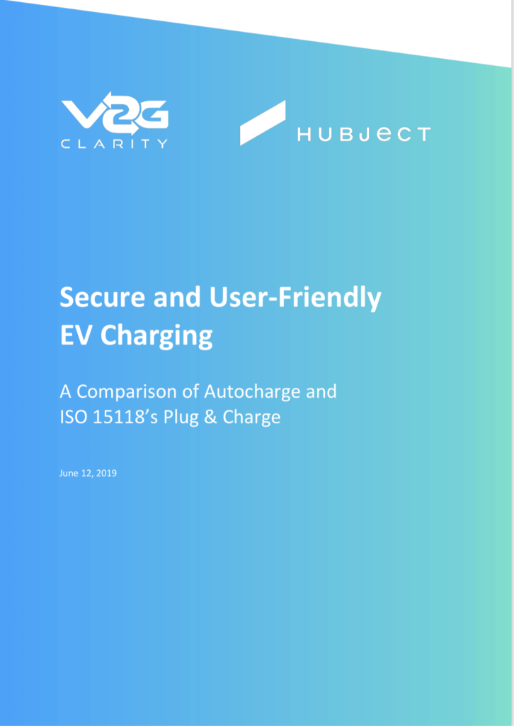 Whitepaper - A Comparison of Autocharge and ISO 15118's Plug & Charge