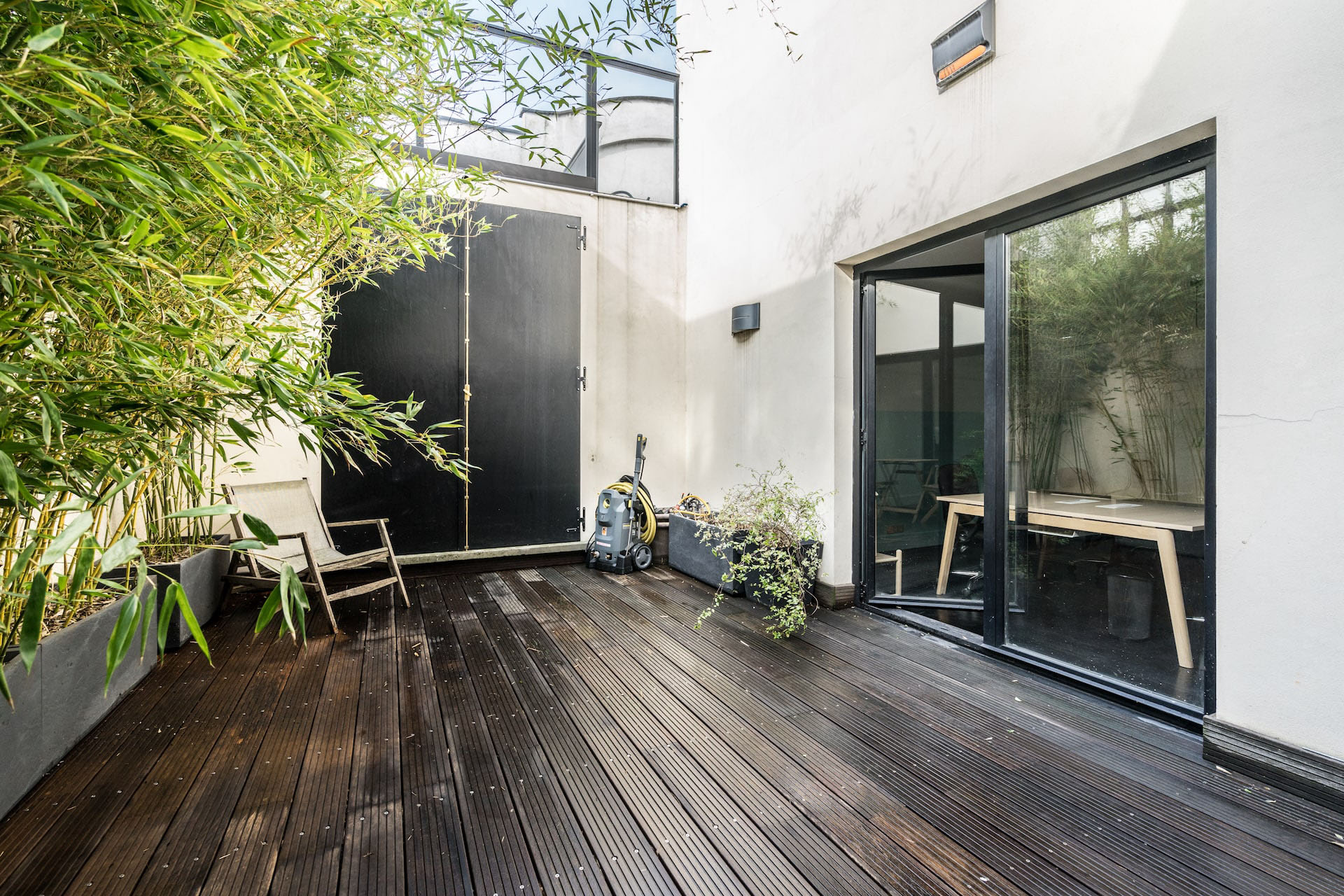 La Piscine Coworking - Pantin - Terrasse jardin intérieur
