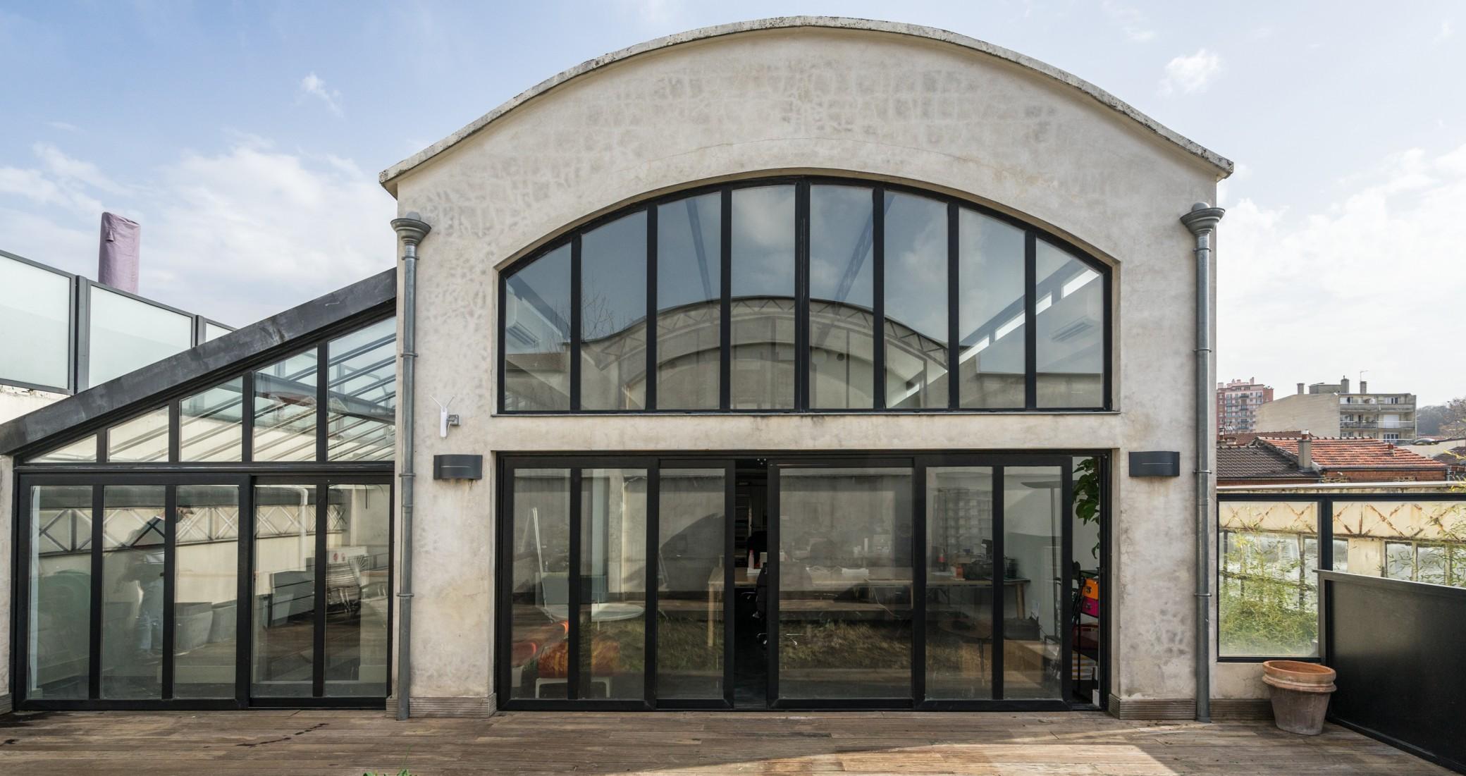 Extérieur La Piscine studio Co-Working Pantin