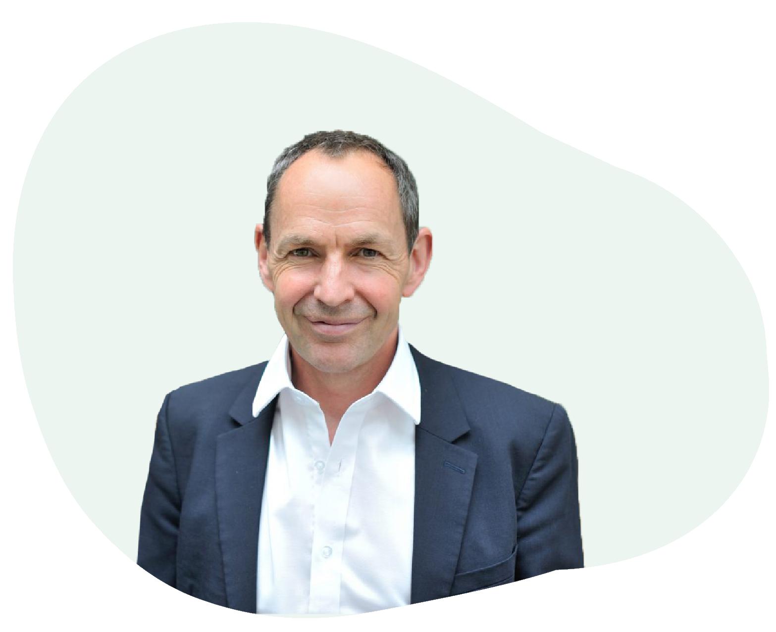 Headshot of Professor Mike Berners-Lee
