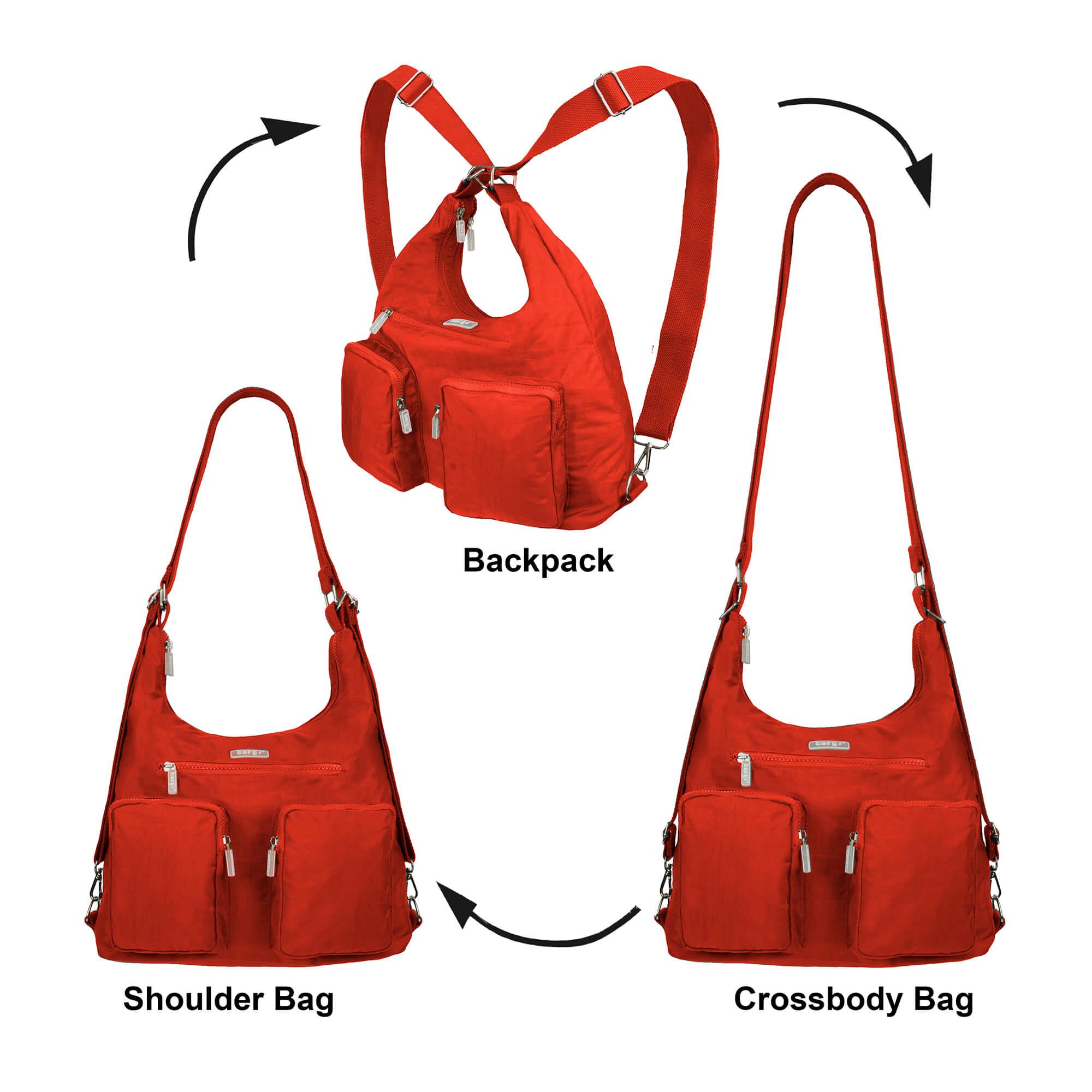 The BergsFlexy bagback orange.