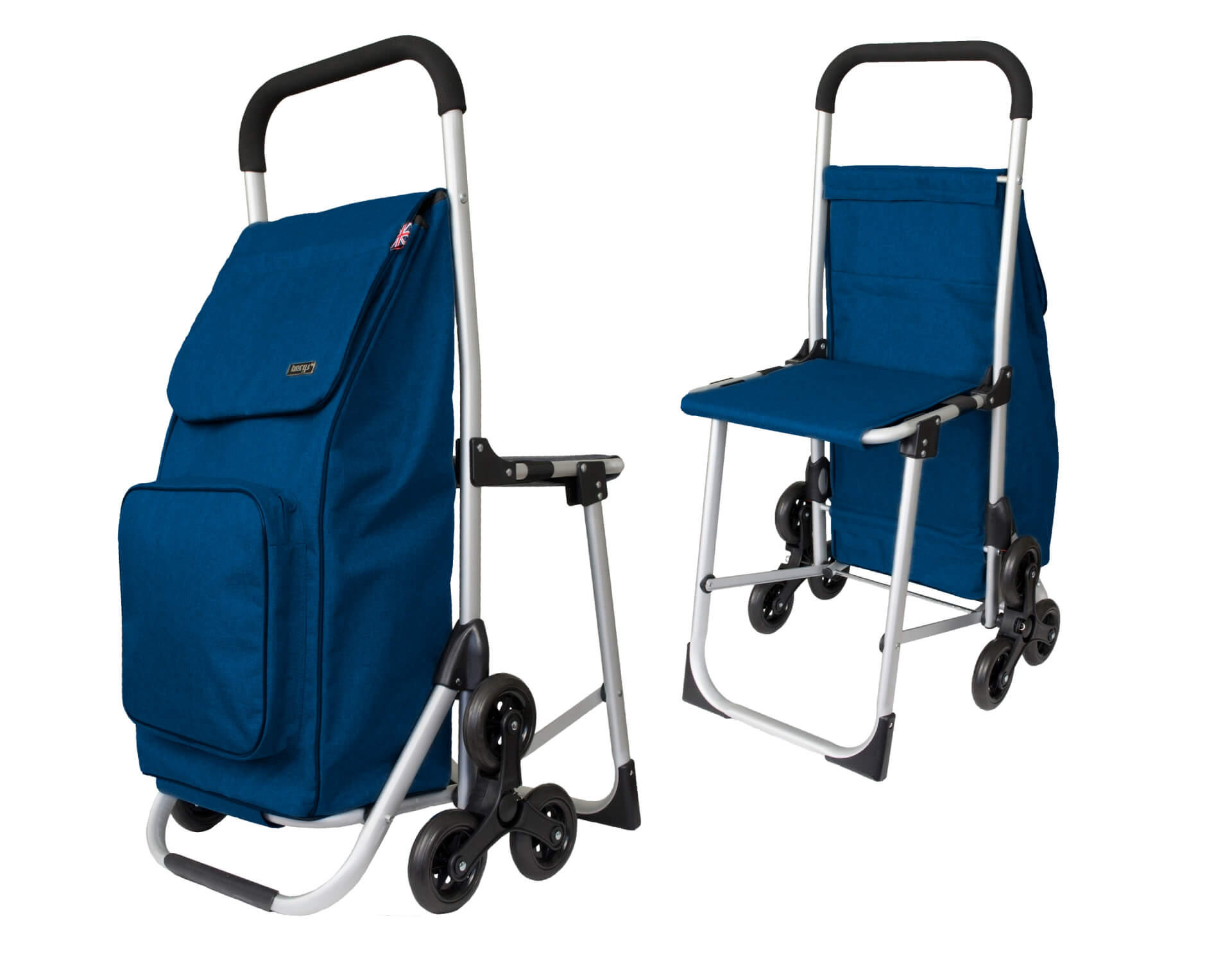 How to unfold your BergsCaddie Seat Trolley