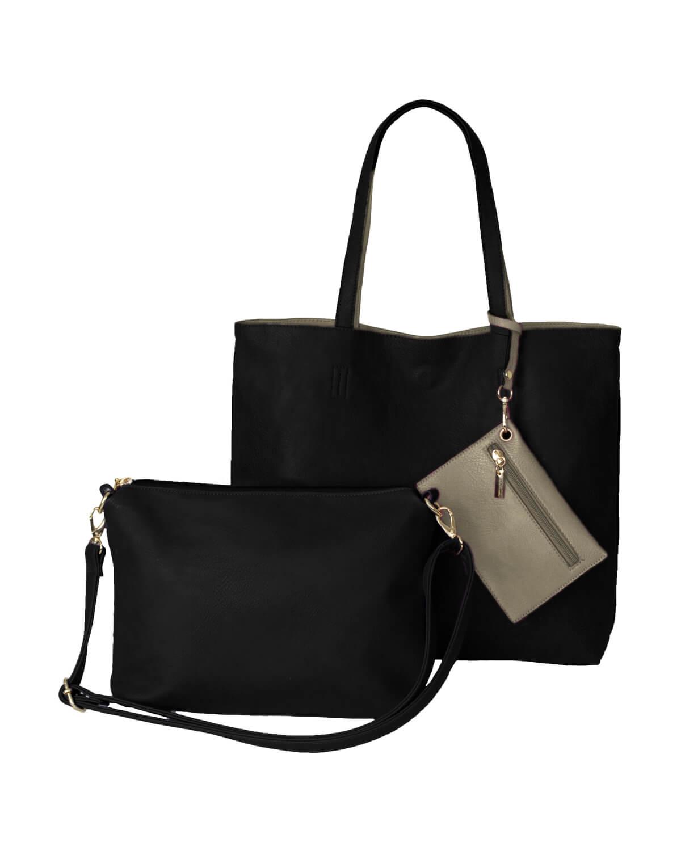 BergsReversible Bag Set Black/Grey