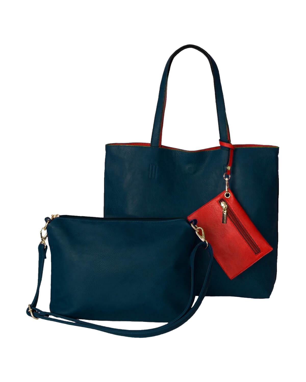 BergsReversible Bag Set Navy/Red
