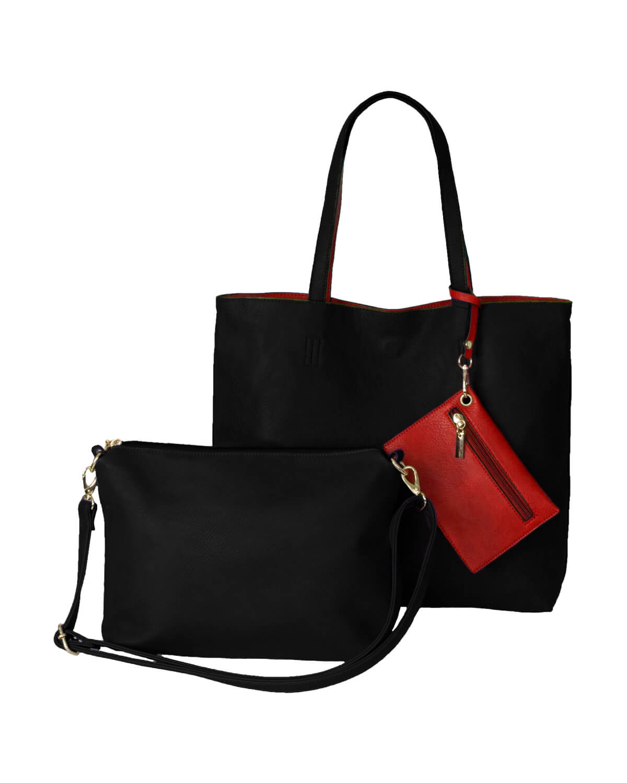 BergsReversible Bag Set Black/Red