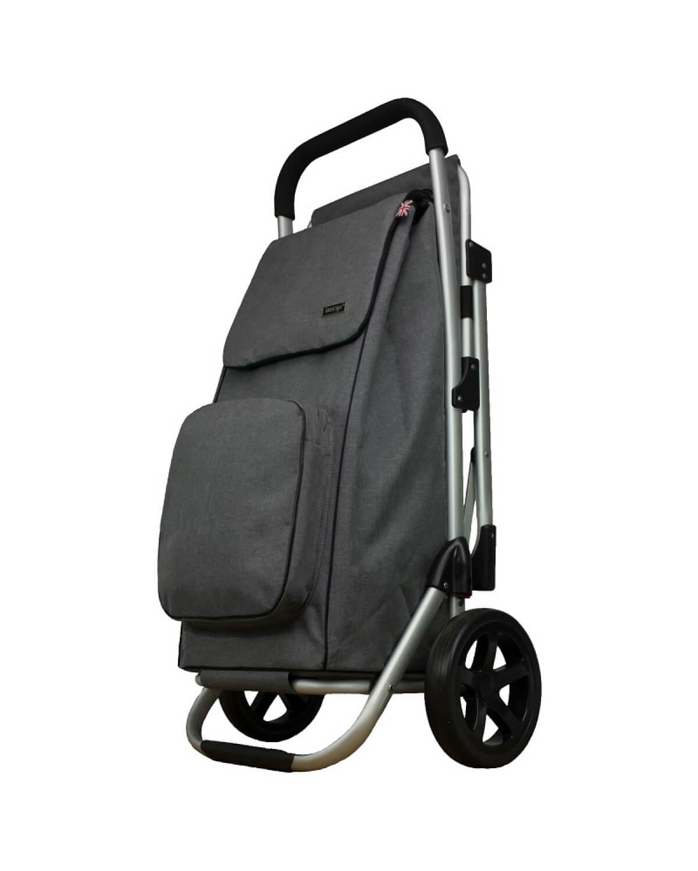 BergsCaddie Seat Trolley Grey