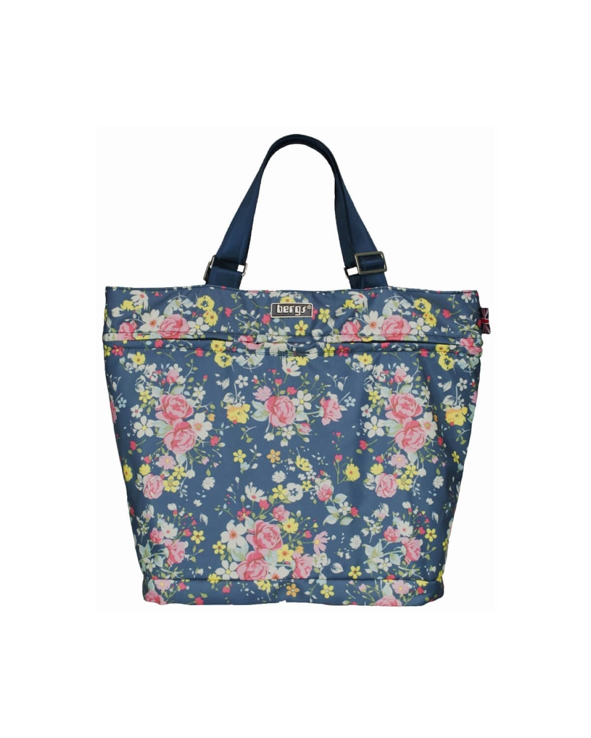 Bergs3in1 Multifunctional Bag Blue with Roses