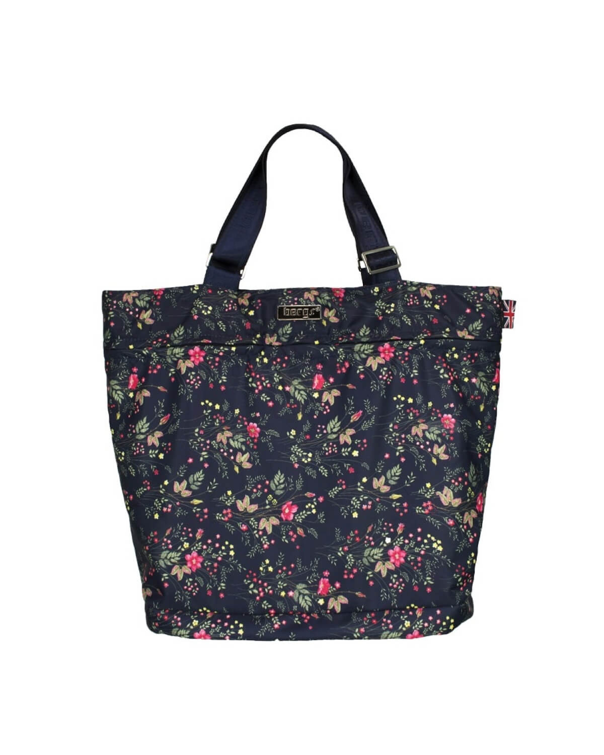 Bergs3in1 Multifunctional Bag Navy with Dog Roses