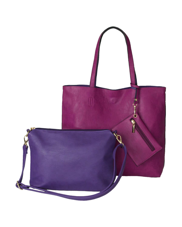BergsReversible Bag Set Pink/Purple