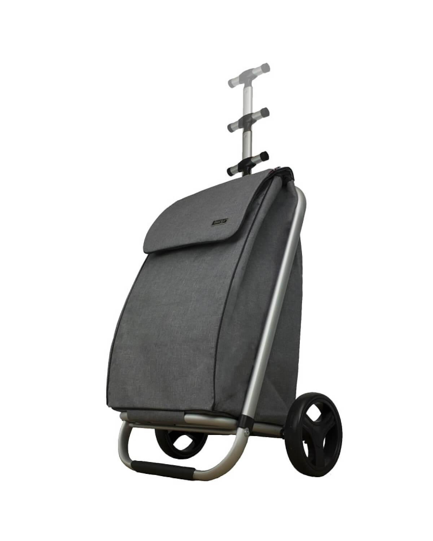 BergsCaddie Telescopic Trolley Grey