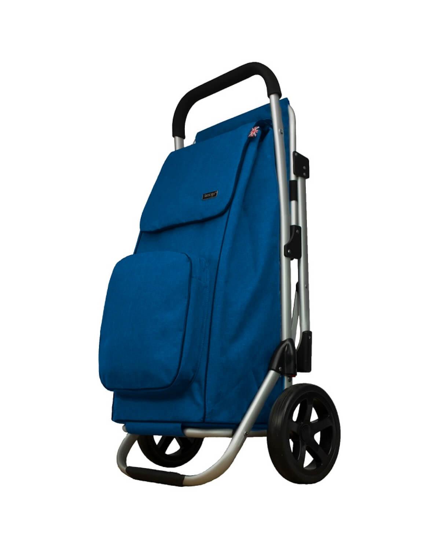 BergsCaddie Seat Trolley Blue