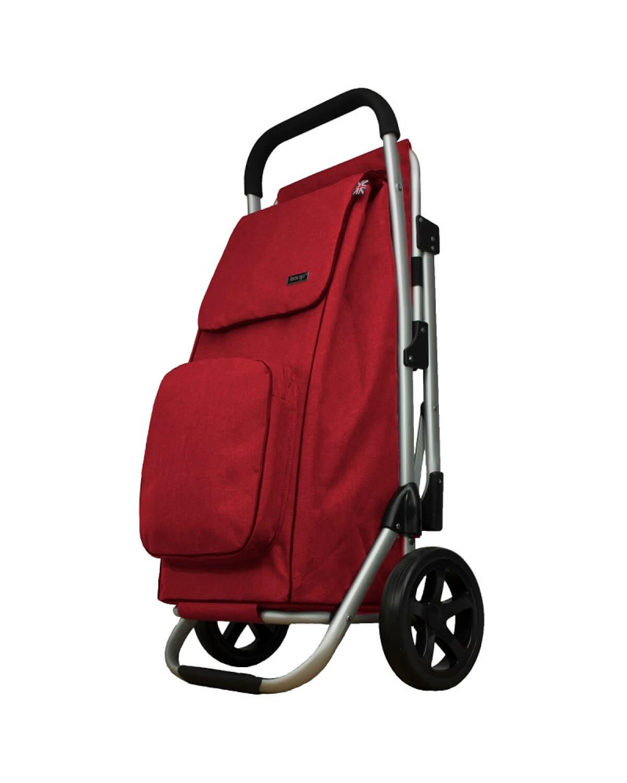 BergsCaddie Seat Trolley Red