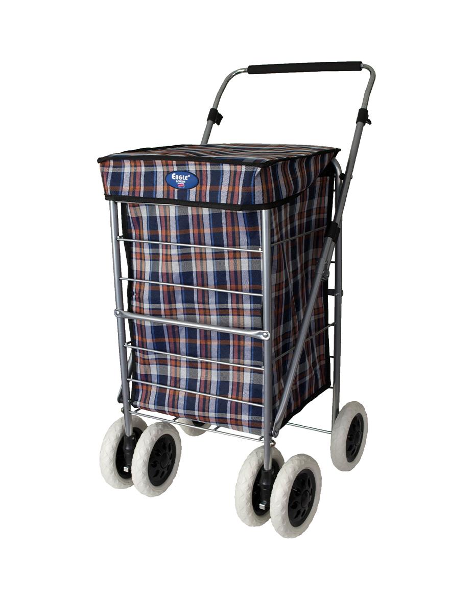 6 Wheels Shopping Trolley