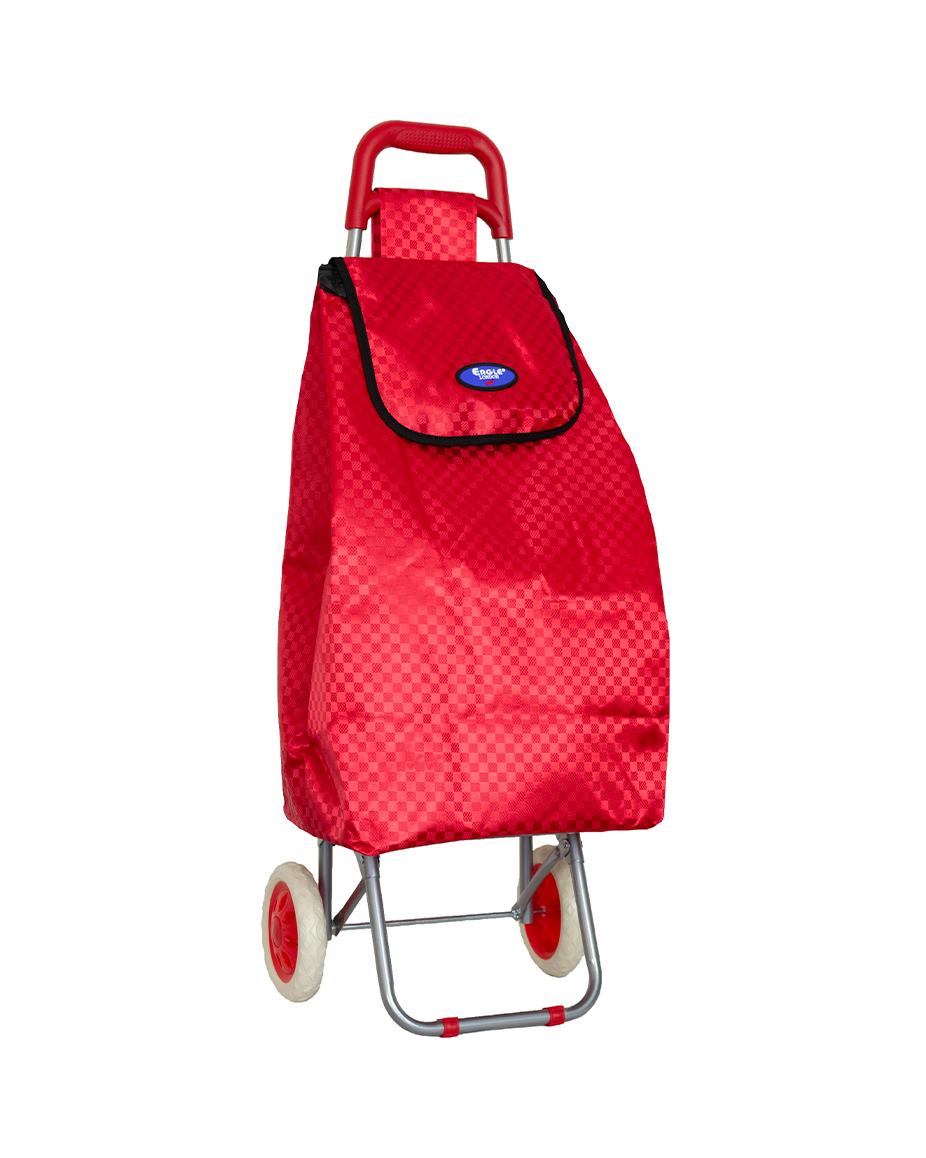Chequered Shopping Trolley