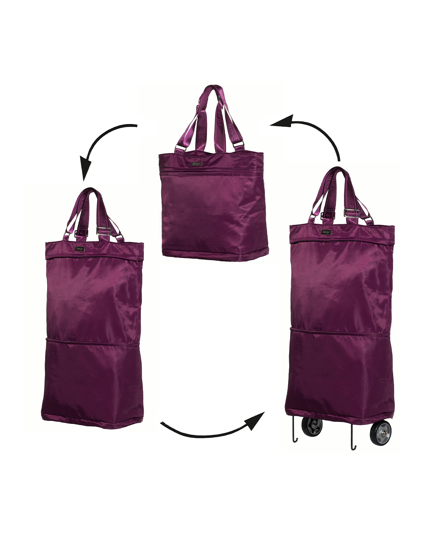 Bergs3in1 Multifunctional Women's Bag Polyester Burgundy
