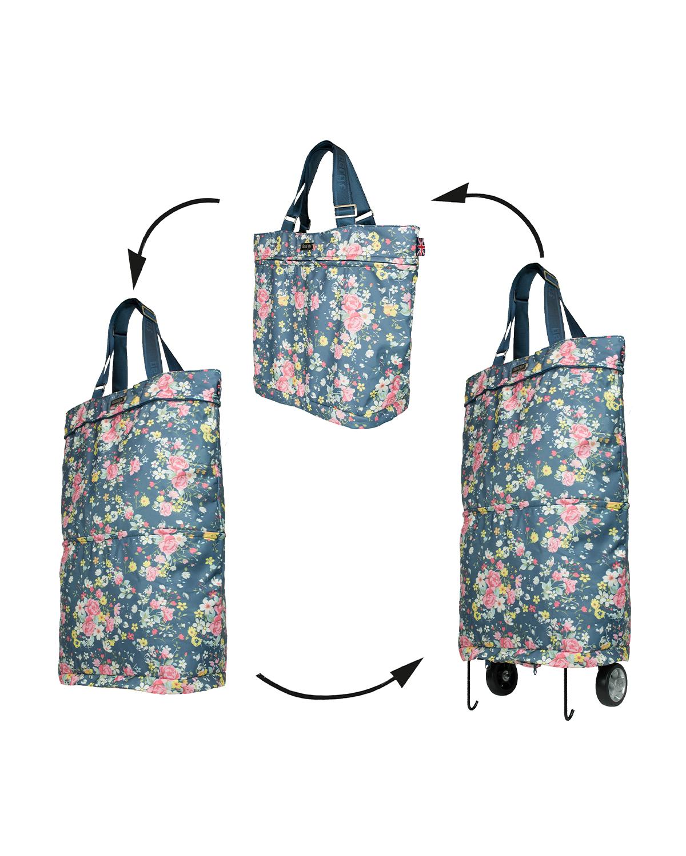 Bergs3in1 Multifunctional Women's Bag Polyester Roses