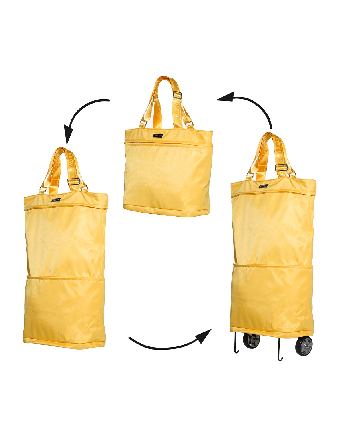Bergs3in1 Multifunctional Women's Bag Polyester Yellow
