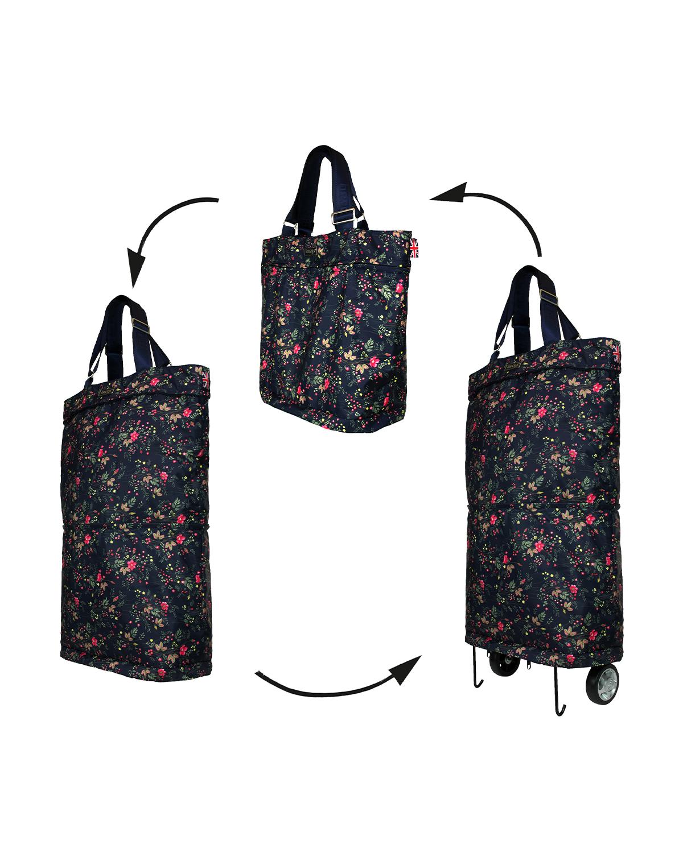 Bergs3in1 Multifunctional Women's Bag Polyester Dog Roses