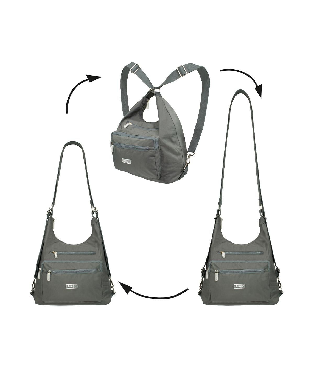 BergsFlexy Multifunctional Unisex Bag Nylon Grey Medium