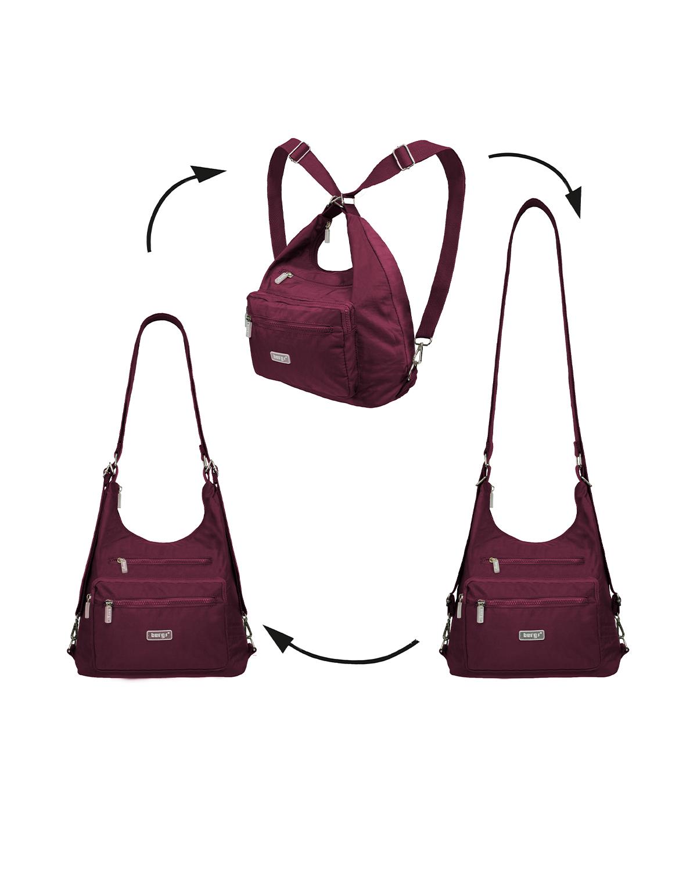 BergsFlexy Multifunctional Women's Bag Nylon Purple Medium