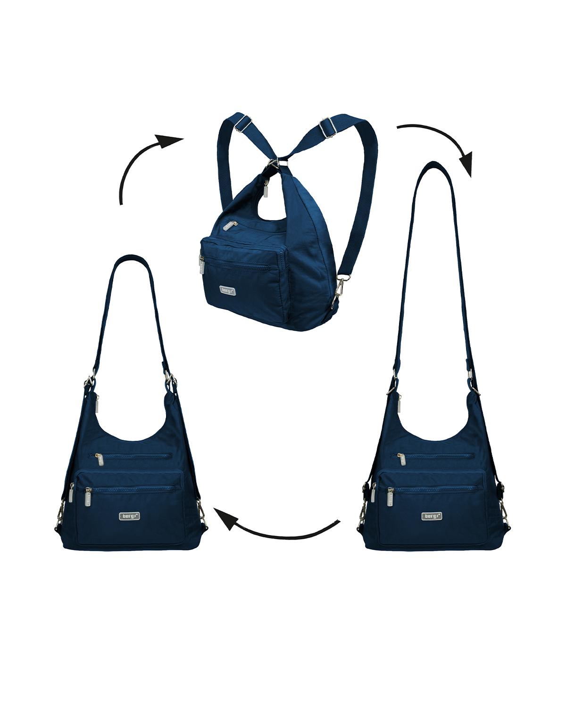 BergsFlexy Multifunctional Unisex Bag Nylon Navy Medium